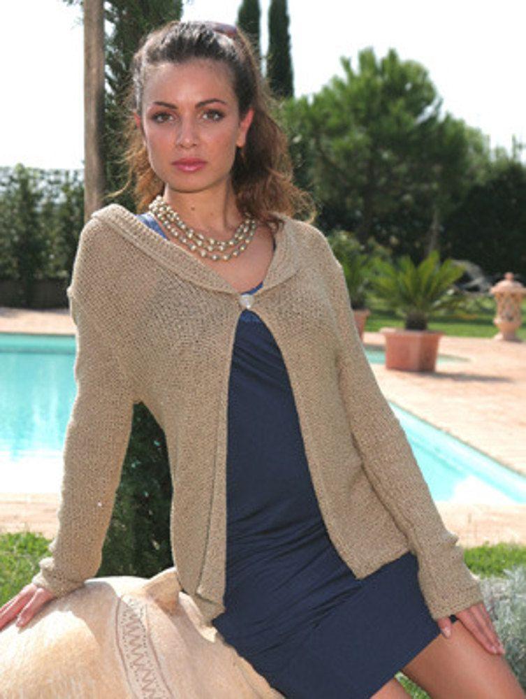 Roxi Cardigan In Adriafil Giada Free Knitting Pattern For Womens