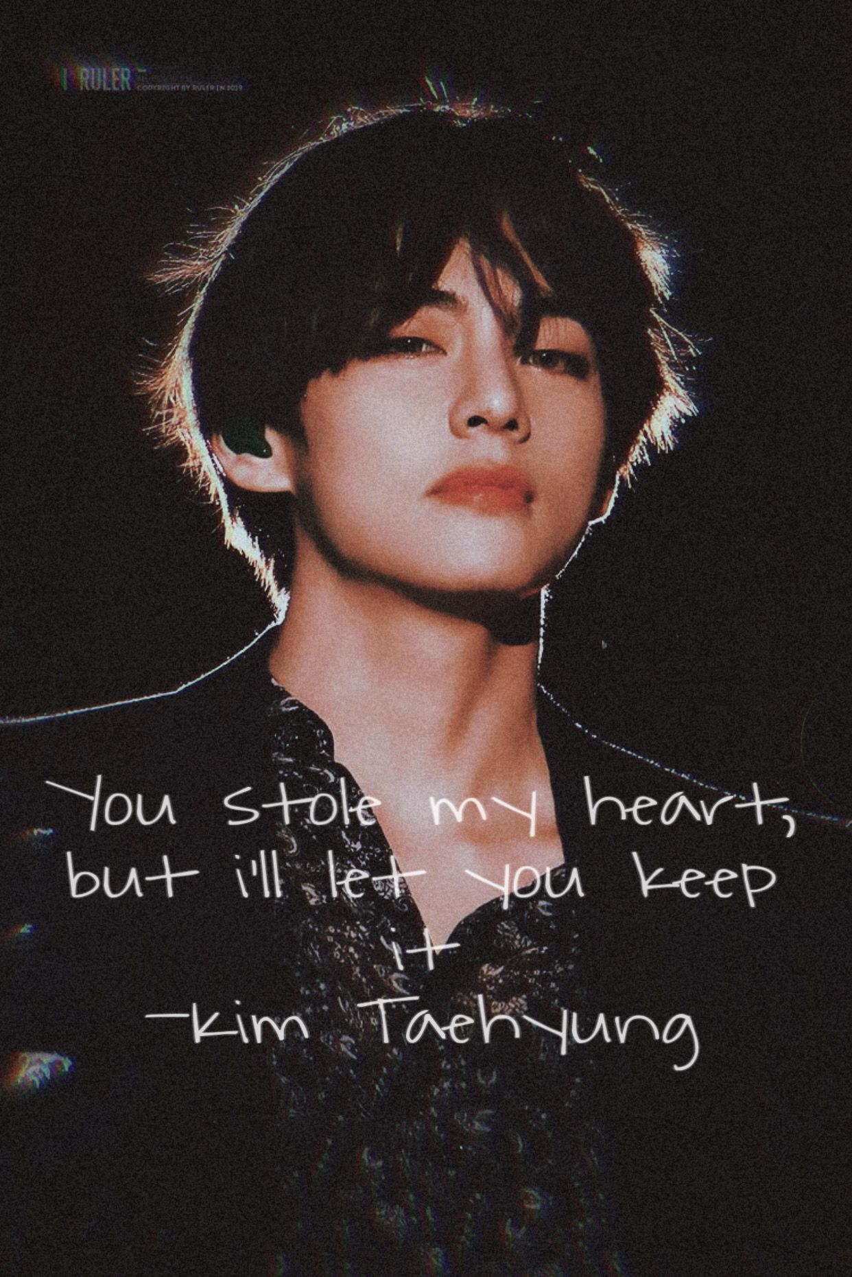 Awesome Kim Taehyung Savage Quotes wallpapers to download for free greenvirals
