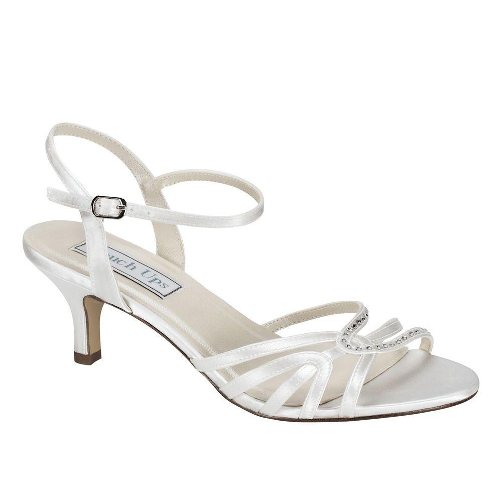 Pin By Lori Anderson On Wedding Ideas Satin Shoes Bridal Wedding Shoes Bridal Shoes
