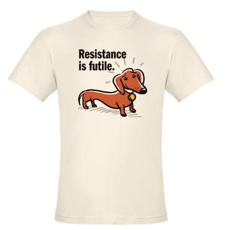 Short Sleeve Shirts In Prink Dachshund Fact Tee Shirt