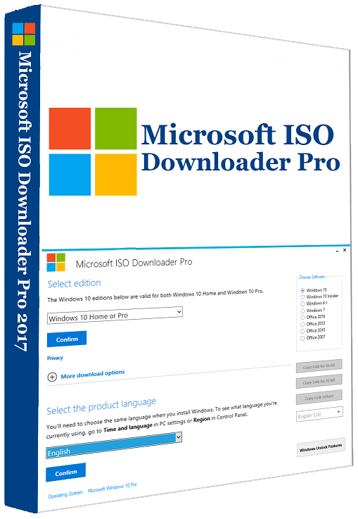 Windows ISO Downloader Tool 6 15 Crack Free Download offers you an