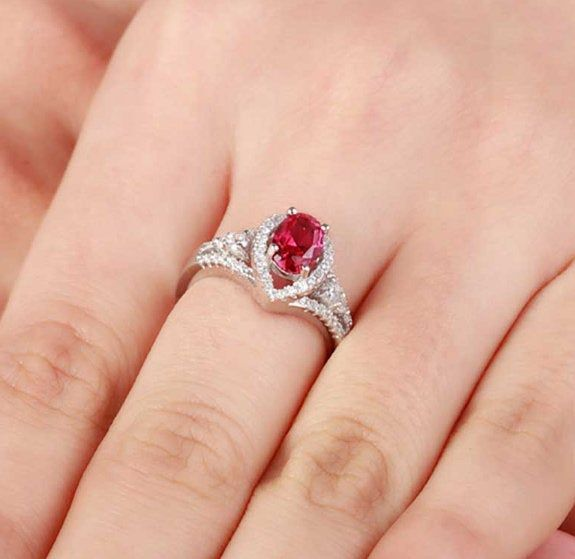 Lab Ruby Ring,Adjustable Ring,925 Silver Ring,Ring For Woman,Beautiful Ruby Ring,Gift For Woman,Anniversary Gift,Wedding Gift,Birthday Gift