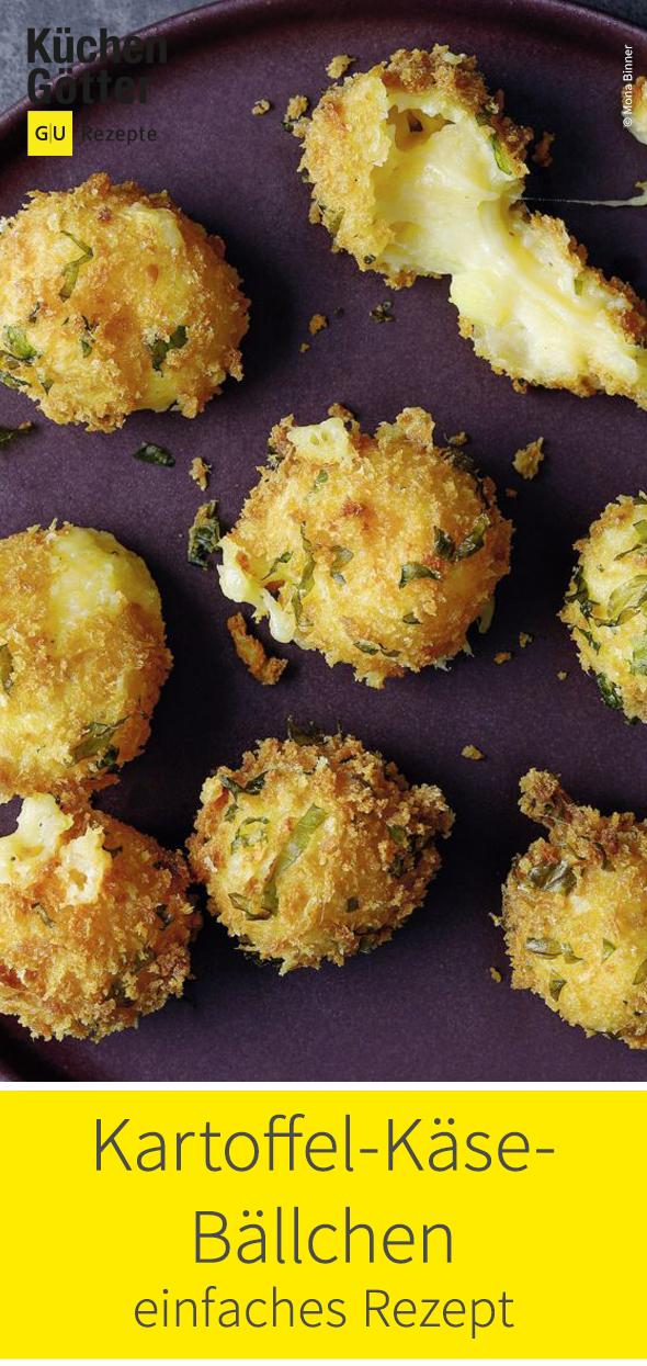 Diese knusprigen Kartoffelbällchen mit Käse sind bei Erwachsenen und Kindern gleichermaßen beliebt. Viel Spaß beim Knuspern!