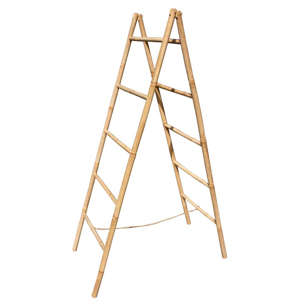 Iowa Bamboo Blanket Ladder In 2020 Bamboo Blanket Blanket Ladder Bamboo