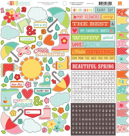 """I added """"EP Paper Sunny Days Ahead"""" to an #inlinkz linkup!http://www.echoparkpaper.com/collections/sunny-days-ahead/index.html"""
