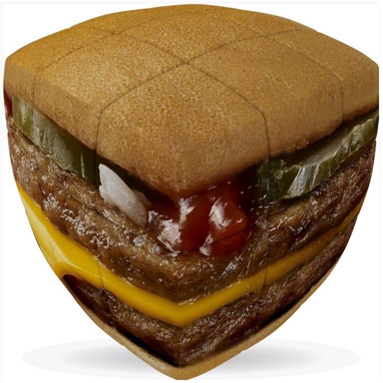 Burger Cube