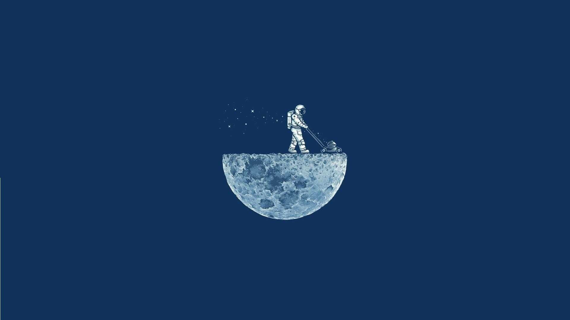 Free Download Minimalist Wallpapers Hd Astronaut Wallpaper Minimalist Wallpaper Minimal Wallpaper