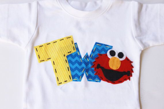 Time To Celebrate Your Loves One Birthday In A Elmo Shirt This