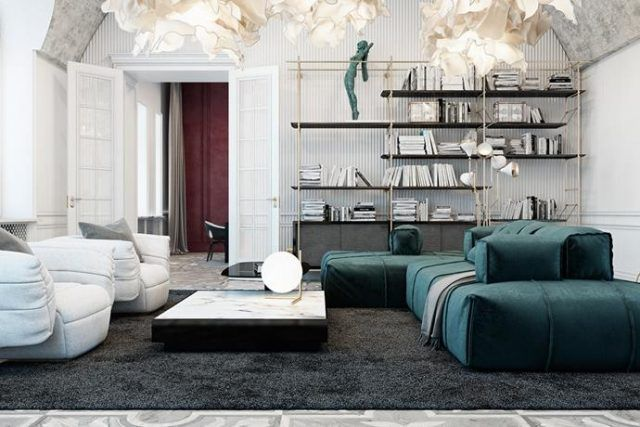 exquisite private residence project in italy room interior designliving - Room Interior Design Ideas