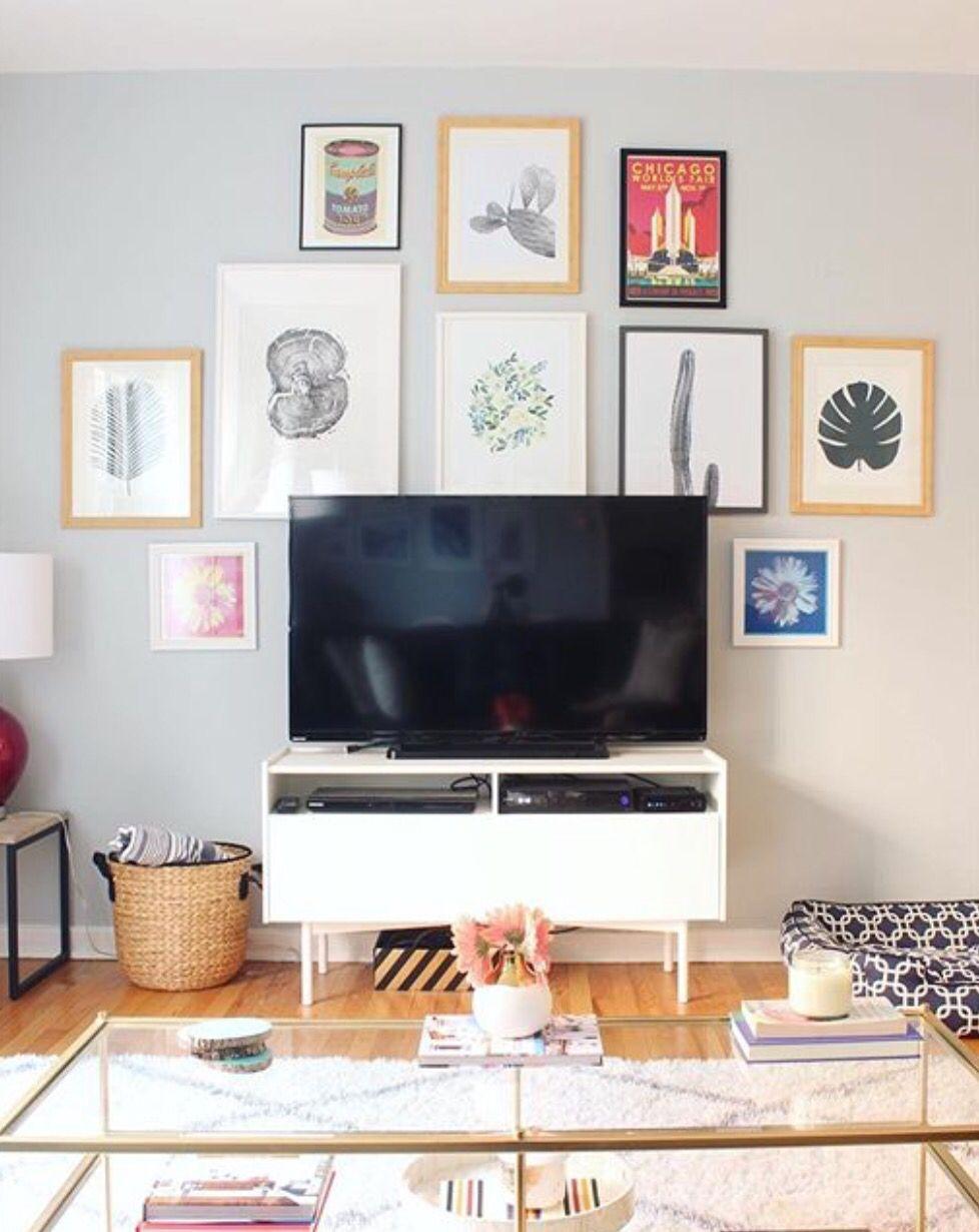 Living Room Tv Setups: Living Room Tv Wall, Living