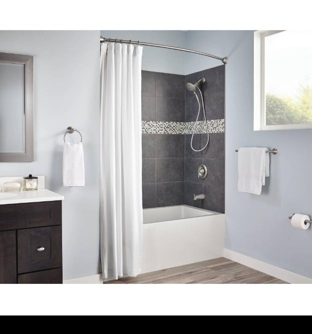 Moen Double Shower Curtain Rings : Best Shower Curtain Ideas