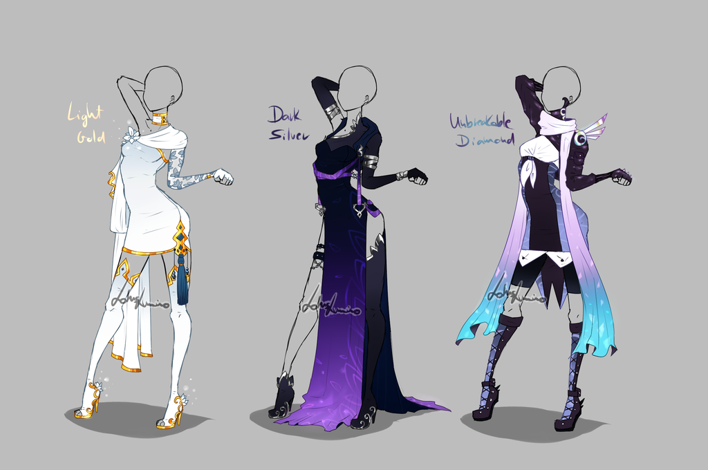 Outfit Design 273 275 Closed Art Clothes Anime Outfits Fantasy Clothing