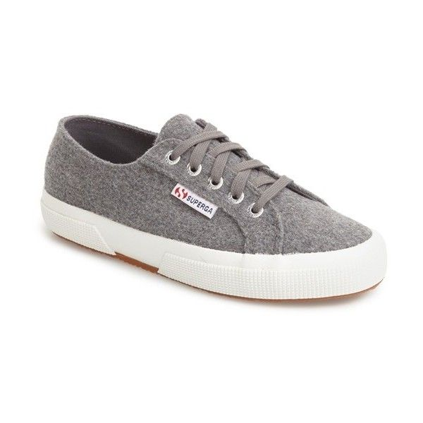 Women's Superga Lace Up Sneaker ($89) ❤ liked on Polyvore featuring shoes,  sneakers