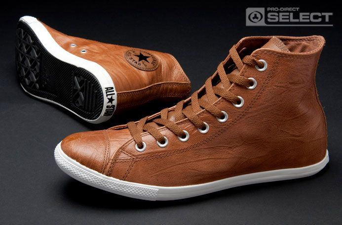 brown leather converse mens