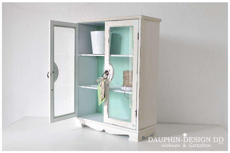 25,00u20ac Schrank mit Glastüren Chalk paint and Shabby - küchenschrank mit glastüren