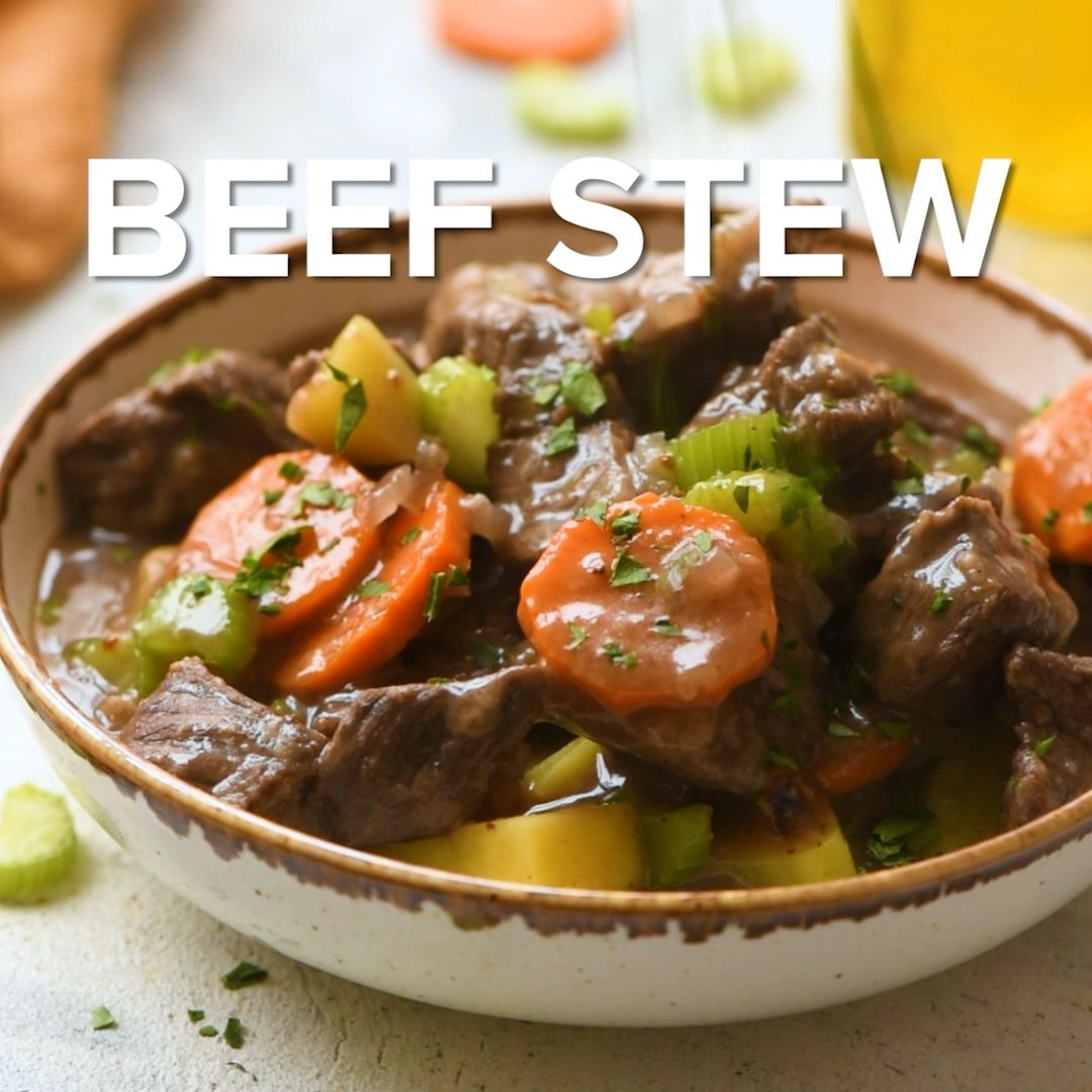 Classic Beef Stew #beefdishes