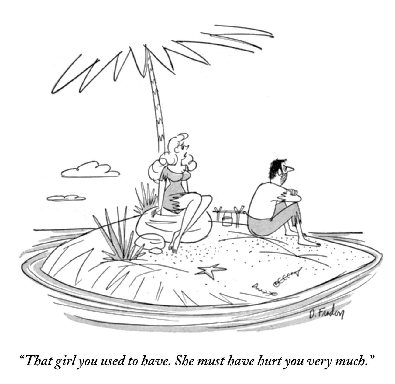 A Guy A Palm Tree And A Desert Island The Cartoon Genre