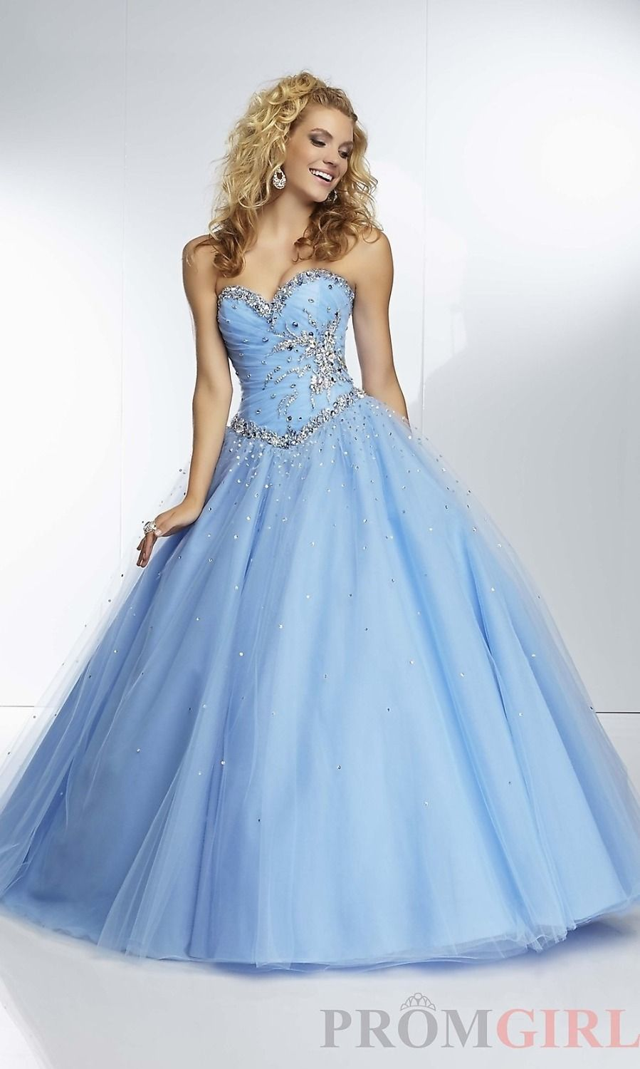 Delicate simple mint sky blue prom gowns with crystals bead