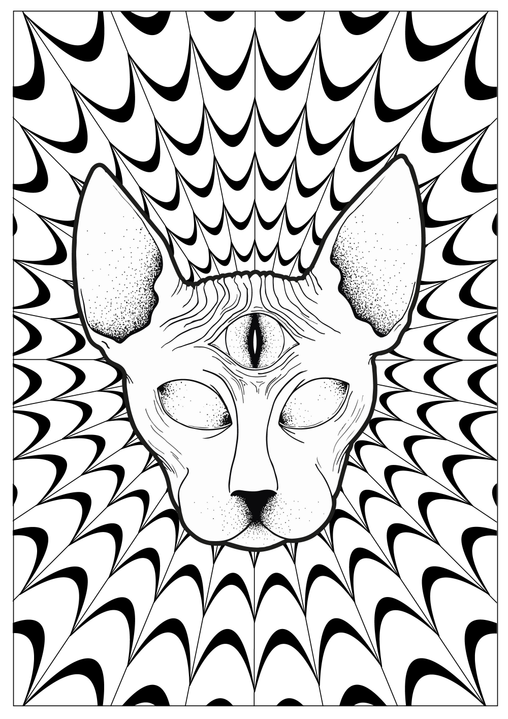 Trippy Coloring Pages Aesthetic Google Search In 2020 Animal Coloring Pages Trippy Drawings Cool Coloring Pages
