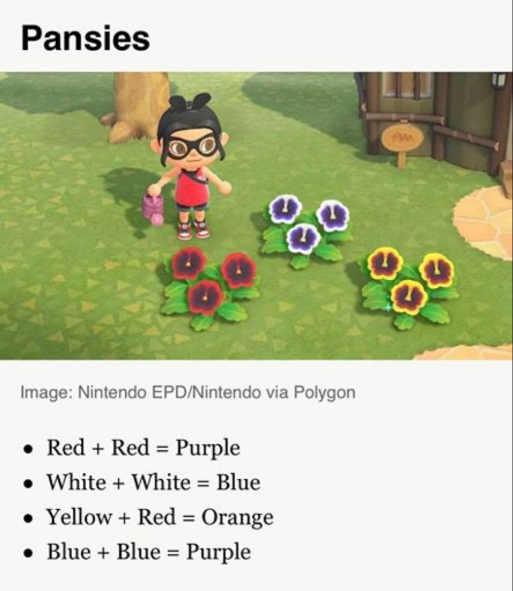 Acnh Flower Hybrid Guide In 2020 Animal Crossing Game Animal Crossing New Animal Crossing