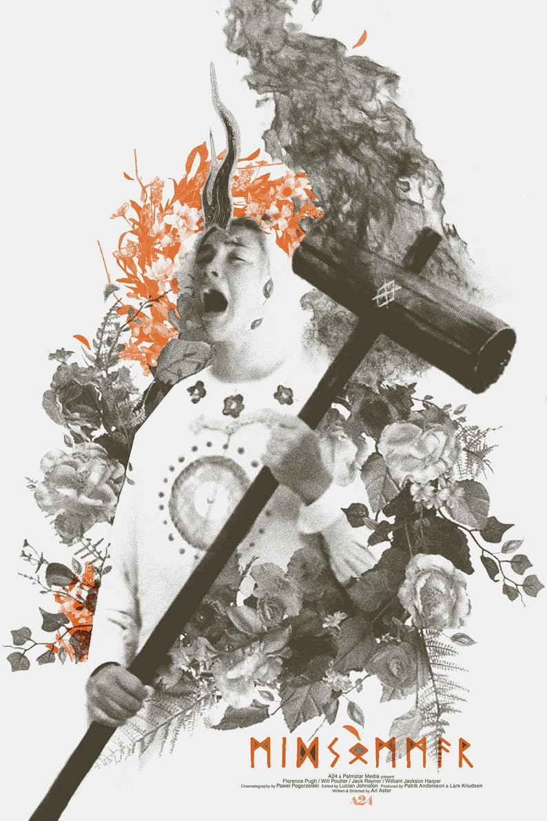 Midsommar 2019 1500 X 2220 Movie Poster Art Poster Art Art Wallpaper