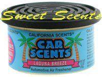 California Scents Laguna Breeze Car Scent Air Freshener
