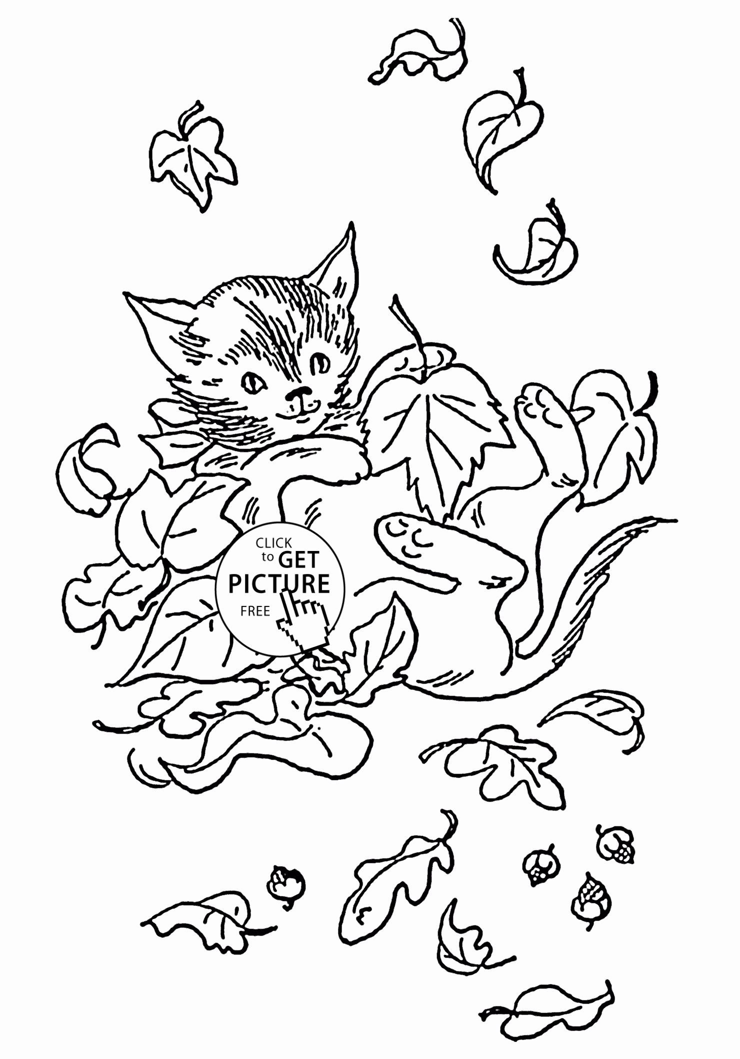 Fall Leaves Coloring Page Inspirational Even Kids Know Where To Find Coloring Page Of Fall Leaves And Fall Coloring Pages Leaf Coloring Page Cat Coloring Book