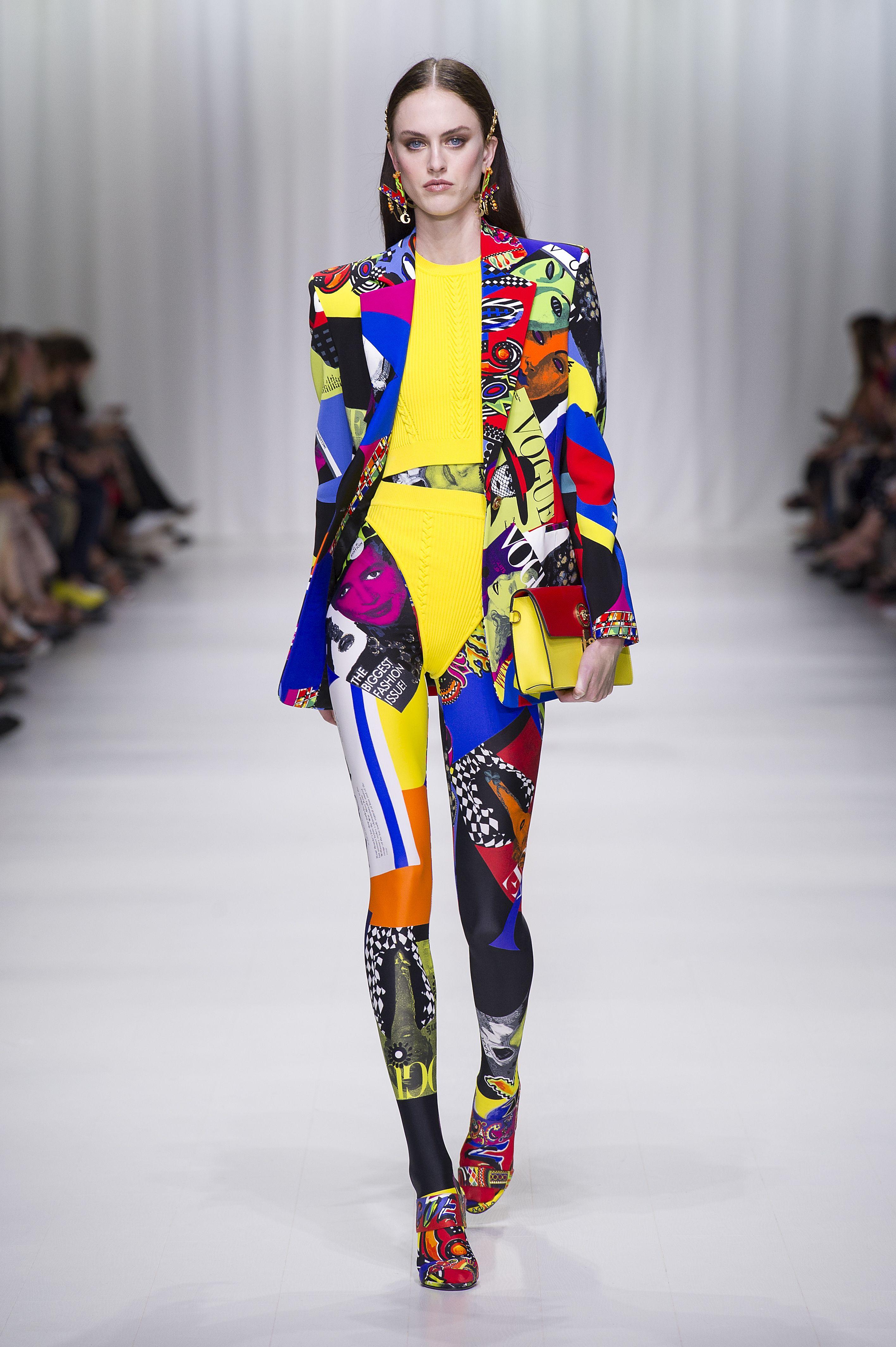 Versace spring summer 2018 | Pop art fashion, Fashion
