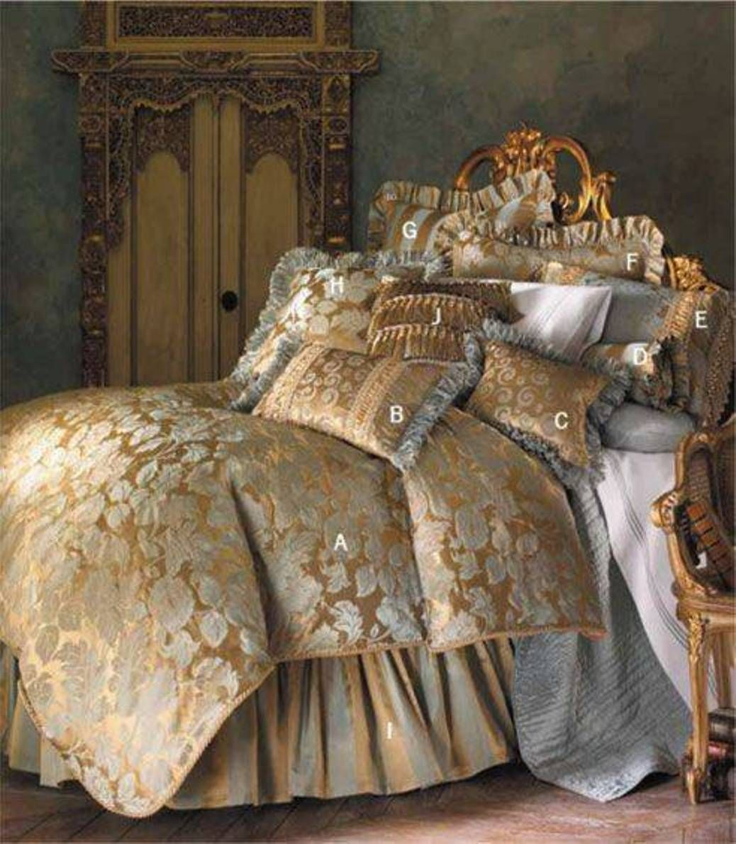 With An Opulent Style Fit For Royalty The Anastasia Bedding Collection By Isabella Brings Air Of Traditional Luxury To Your Bedroom