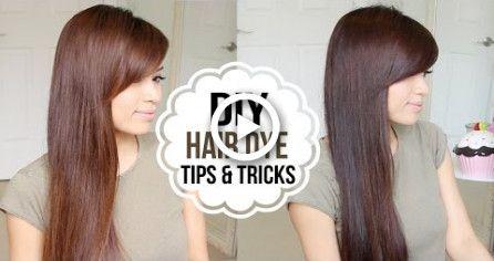 How to Dye Hair at Home (Coloring Tips & Tricks) #hair #diy ...
