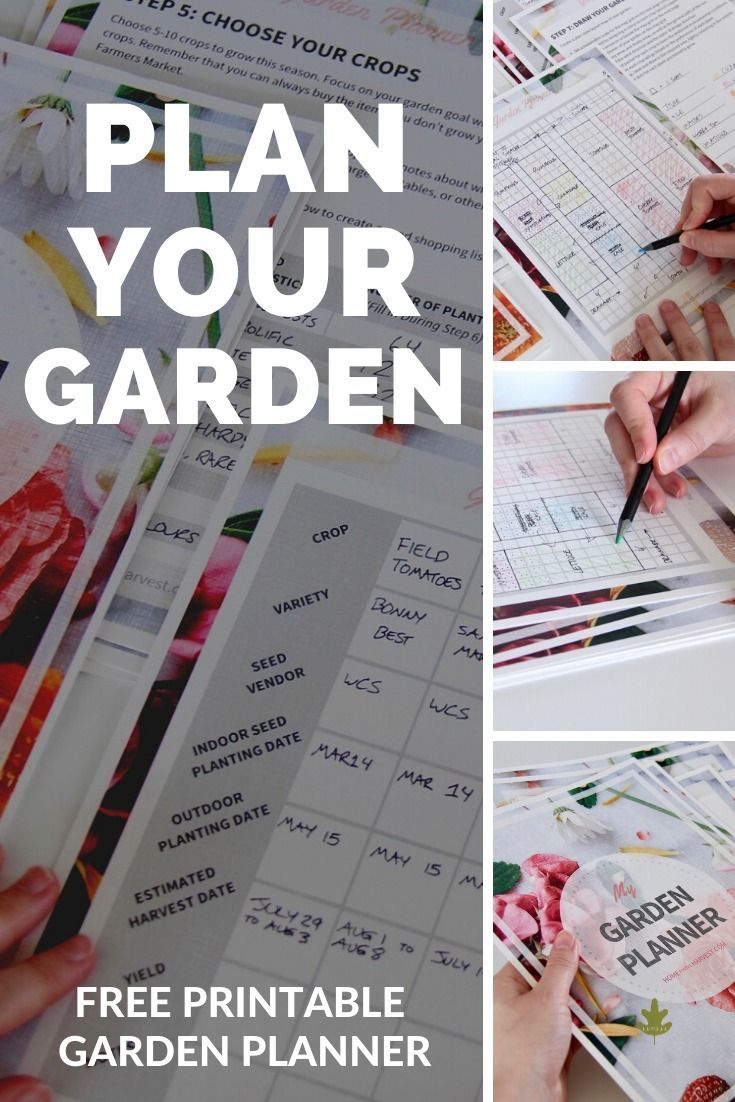 Free Garden Planner for Beginners - Download the PDF ...