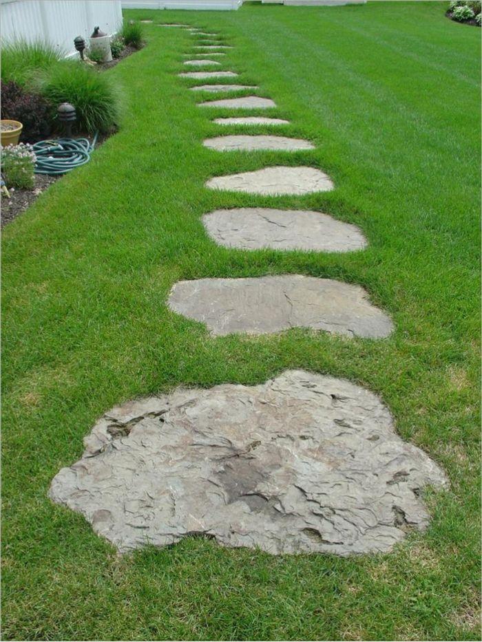 Gartensteine gartenweg gartenideen gartenweg pinterest gartensteine gartenweg und gartenideen - Gartenweg ideen ...