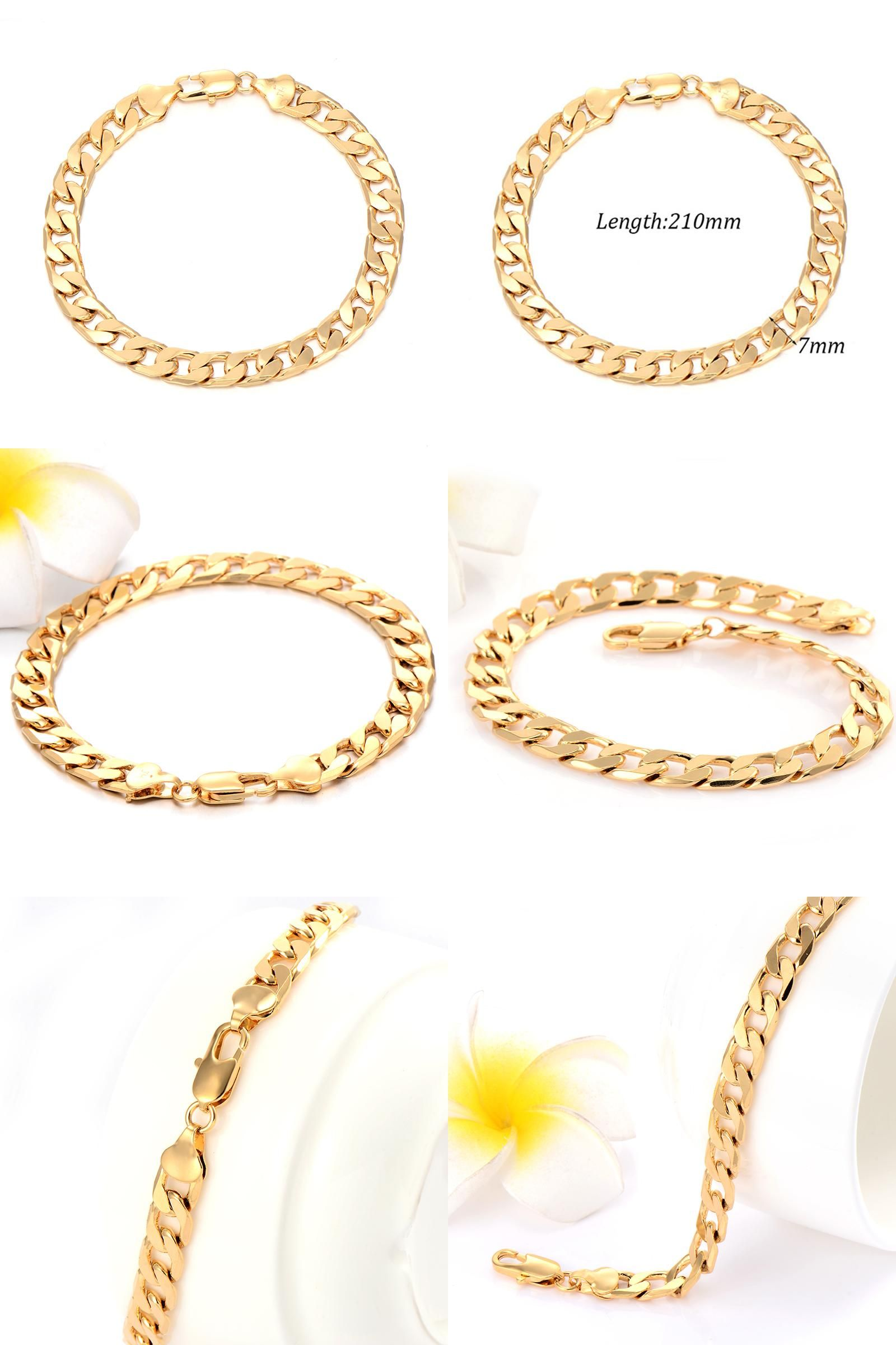 Visit to buy fashion retro vintage gold color mens man jewelry