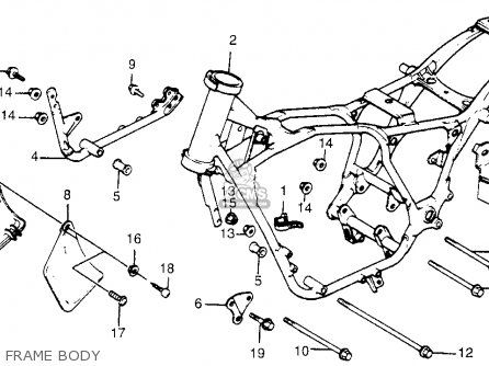 Honda Vt500c Shadow 500 1985 f Usa California Frame Body