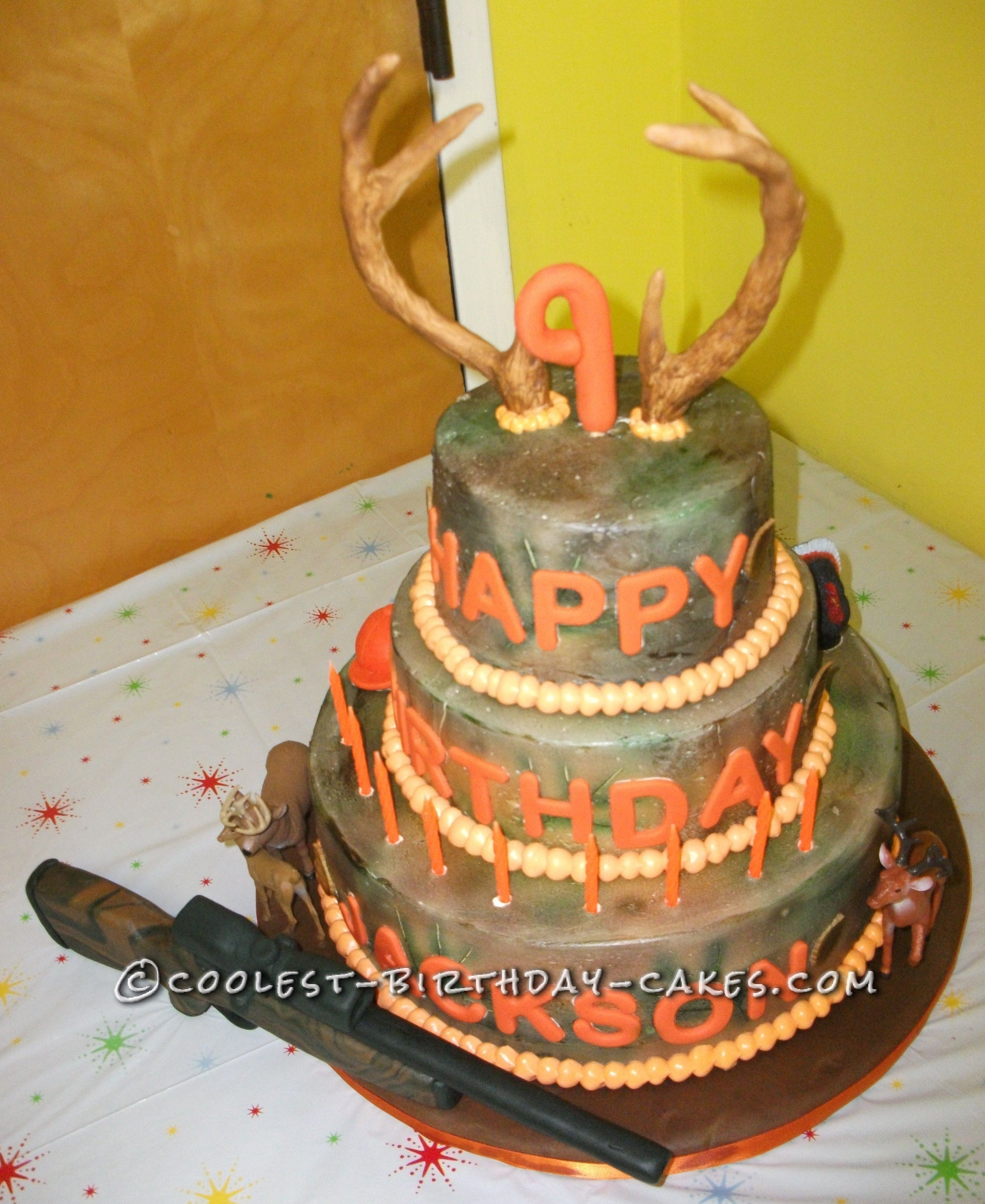 Coolest Camo Hunting Cake This Website Is The Pinterest Of Birthday Ideas