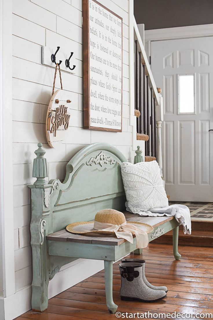 Photo of How to turn a running board into a bench – start at home decor – farmhouse decor – memetko blog