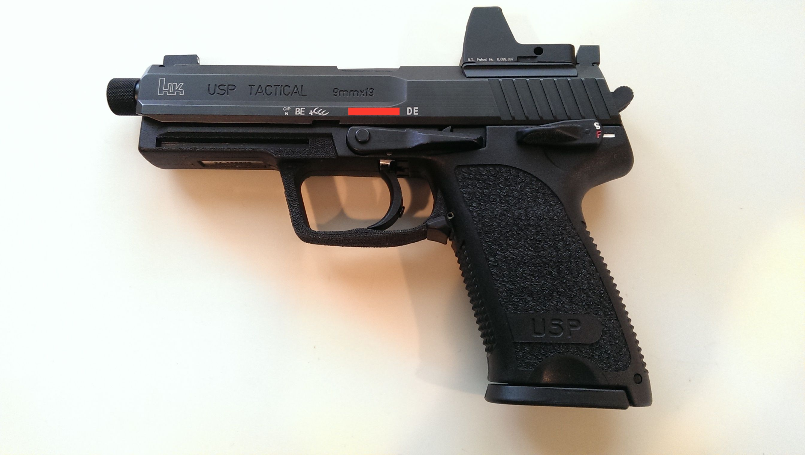 L and M Precision RMR mount for HK USP | Firearms | Hand