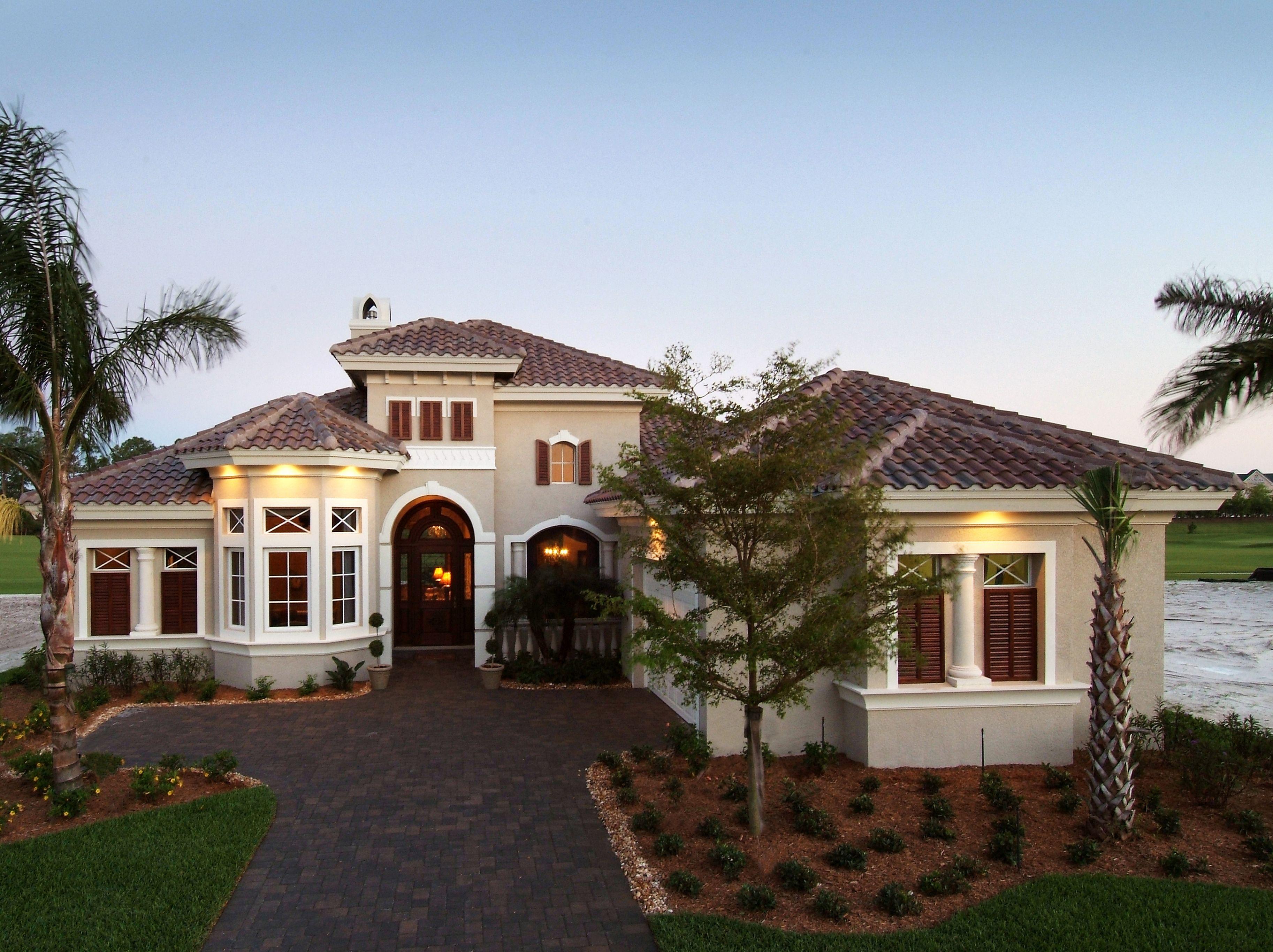 Exciting Mediterranean Design 33562EB Florida