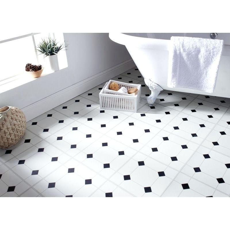 white peel and stick floor tile self