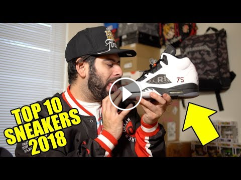 8846d447dd TOP 10 SNEAKERS OF 2018 (YOUTUBERS EXPOSED PARODY) qiasomar qrewtv ...