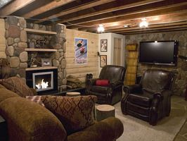 Elegant DIY UNFINISHED BASEMENT. 18 Hangout Spaces From Man Caves