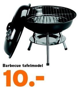 Barbecue tafelmodel