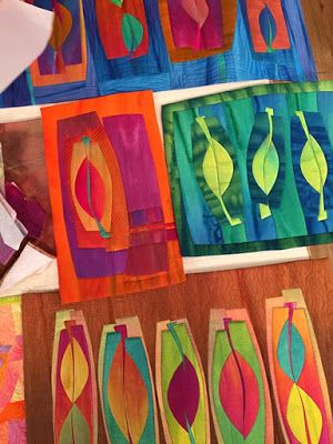 Work By Frieda Anderson Guest On Quilting Arts Tv Series