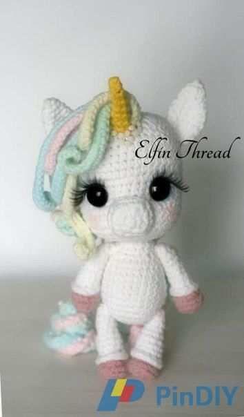 pintestgesindel familie on häkeln  crochet unicorn