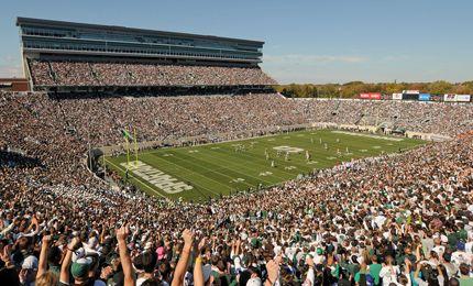 Spartan Stadium Msu East Lansing Mich Michigan State Michigan Usa Michigan State University
