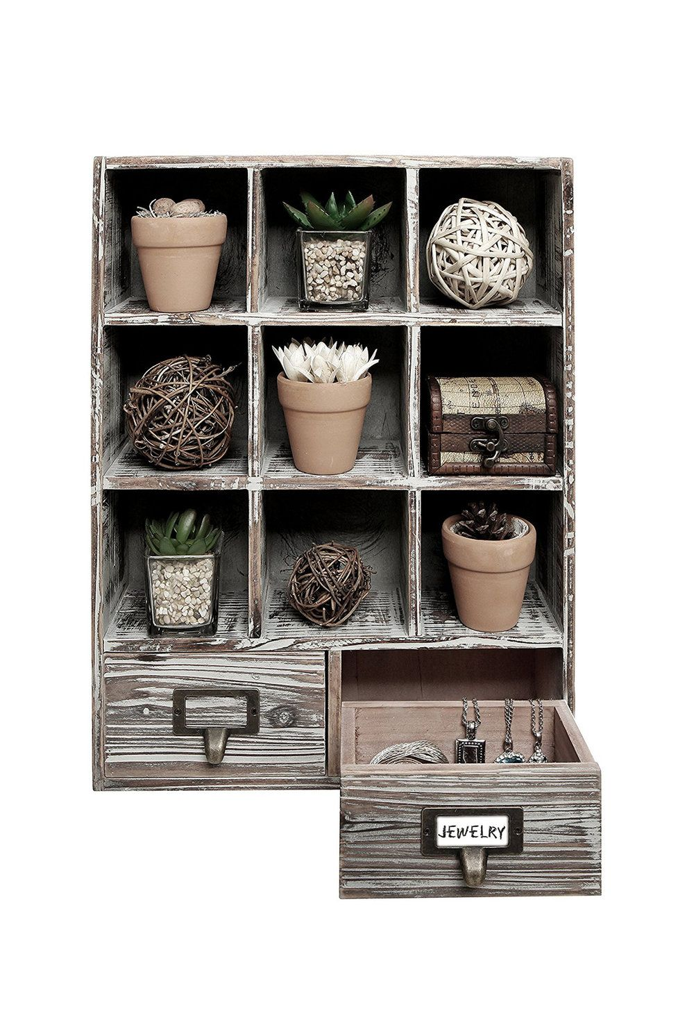 Rustic Dark Brown Wood Shadow Box1 Jpg Wood Shadow Box Cubby Storage Rustic Wall Shelves