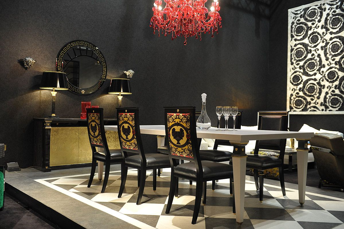 Versace With Images Gold Dining Room Luxury Dining Room