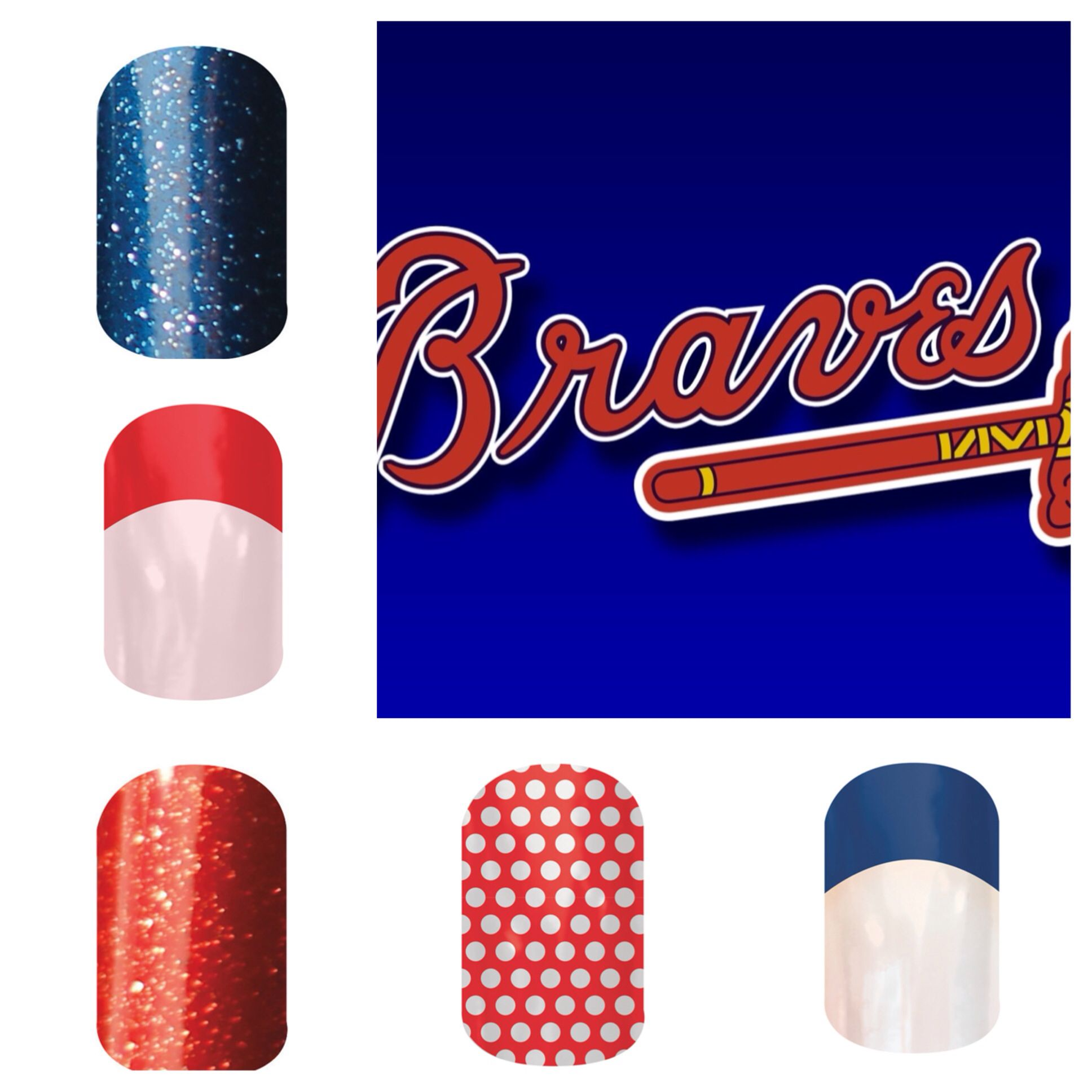 Atlanta Braves Colors Order At Www Christinarunyon Jamberrynails Net With Images How To Do Nails Jamberry Nails Jamberry
