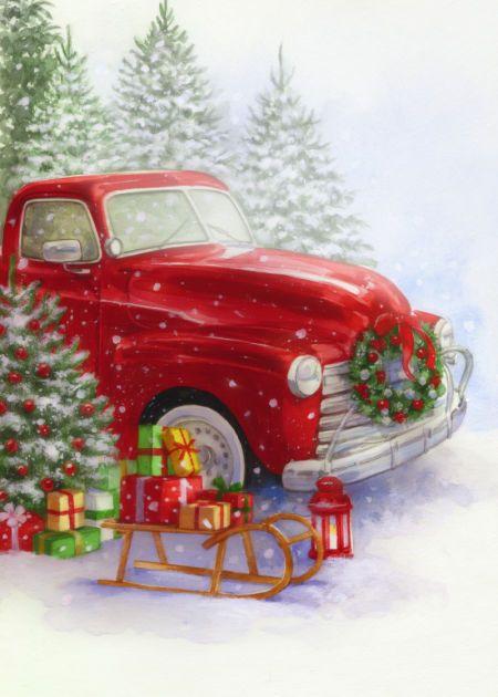 Lisa Alderson La Christmas Truck Christmas New
