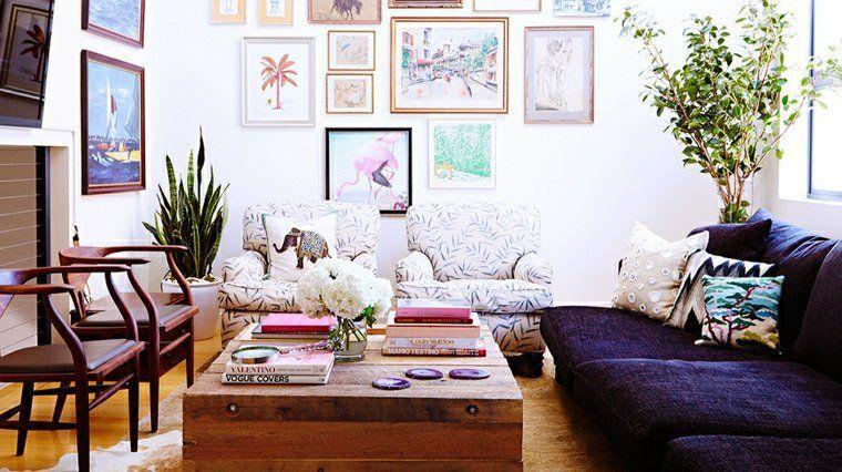 stile bohemien e idee di arredamento per il salotto | vintage ... - Idee Arredamento On Line